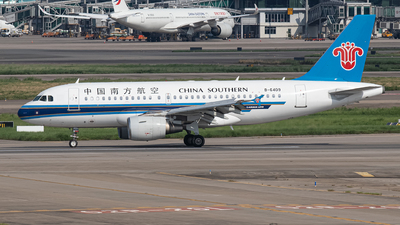 A picture of B6409 - Airbus A319112 - China Southern Airlines - © Leng Hao