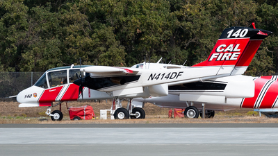 N414DF - North American OV-10A Bronco - United States - California Department of Forestry