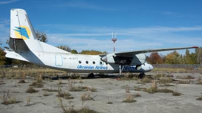 UR-46677 - Antonov An-24RV - AeroSvit Ukrainian Airlines (Lugansk Airlines)