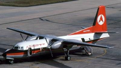 VH-FNT - Fokker F27-600 Friendship - Ansett Airlines of Australia