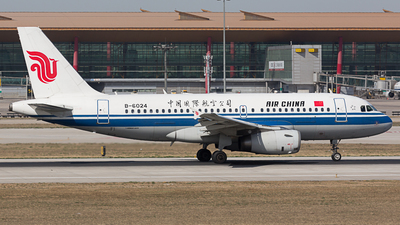 B-6024 - Airbus A319-132 - Air China