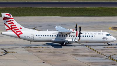 VH-VPJ - ATR 72-212A(600) - Virgin Australia Airlines