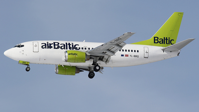 YL-BBQ - Boeing 737-522 - Air Baltic