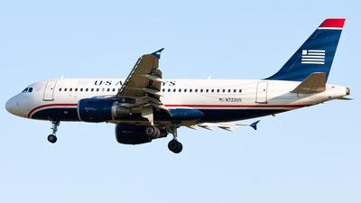 N722US - Airbus A319-112 - US Airways