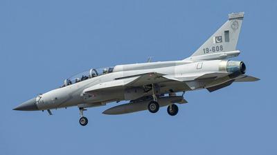 19-608 - Chengdu JF-17B Thunder - Pakistan - Air Force