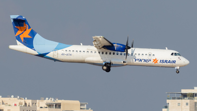A picture of 4XATH - ATR 72500 - Israir Airlines - © Eyal Zarrad
