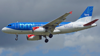 G-DBCI - Airbus A319-131 - bmi British Midland International
