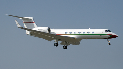 A4O-AD - Gulfstream G550 - Oman - Royal Flight