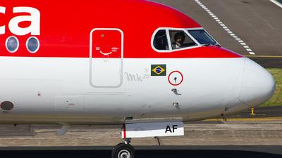 PR-OAF - Fokker 100 - Avianca Brasil