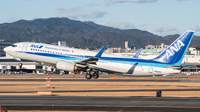 JA68AN - Boeing 737-881 - All Nippon Airways (ANA)