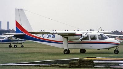 G-OWIN - Britten-Norman BN-2A-8 Islander - Private