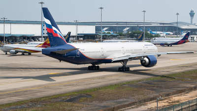 A picture of VPBGC - Boeing 7773M0(ER) - Aeroflot - © George Ma
