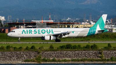 HL8255 - Airbus A321-231 - Air Seoul