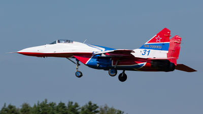 31 - Mikoyan-Gurevich MiG-29UB Fulcrum - Russia - Air Force