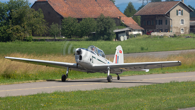 HB-TUT - De Havilland Canada DHC-1 Chipmunk 22 - Private