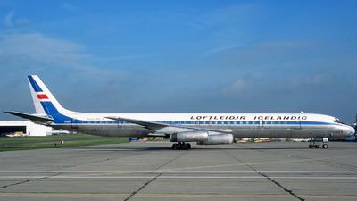 N8641 - Douglas DC-8-63(CF) - Loftleiðir Icelandic