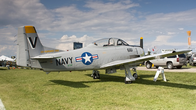 N661NA - North American T-28C Trojan - Private