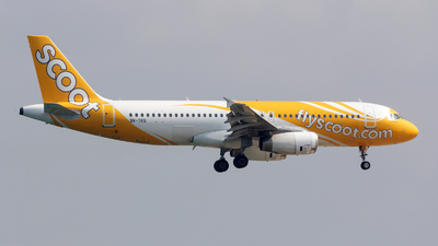 9V-TRS - Airbus A320-232 - Scoot