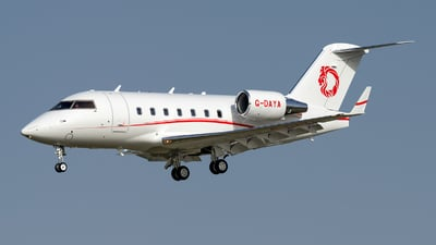 G-DAYA - Bombardier CL-600-2B16 Challenger 604 - Gama Aviation