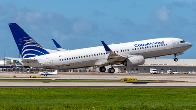 A picture of HP1856CMP - Boeing 7378V3 - Copa Airlines - © Miguel Rodriguez Puerto Rico Spotter