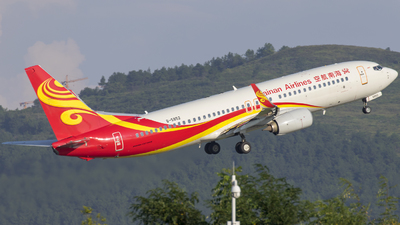 B-5852 - Boeing 737-84P - Hainan Airlines