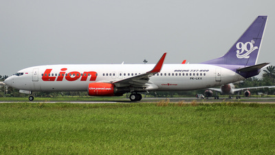 A picture of PKLKV - Boeing 7378GP - Lion Air - © EDUARDO K PURBA