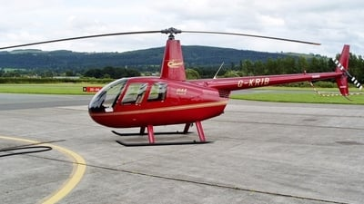 G-KRIB - Robinson R44 Raven II - Cribarth Helicopters