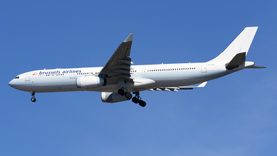 OO-SFH - Airbus A330-342 - Brussels Airlines