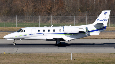 F-HVYC - Cessna 560XL Citation XLS+ - Private