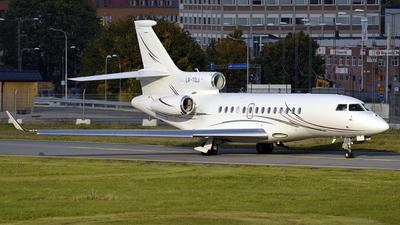 LX-TQJ - Dassault Falcon 7X - Global Jet Luxembourg