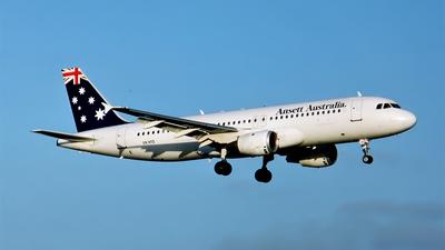 VH-HYD - Airbus A320-211 - Ansett Australia