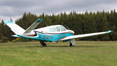 F-BNOS - Beechcraft S35 Bonanza - Private