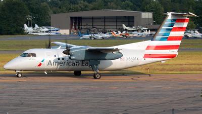 A picture of N839EX - De Havilland Canada Dash 8100 - [226] - © Jose G. Candelas
