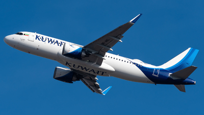 9K-AKL - Airbus A320-251N - Kuwait Airways