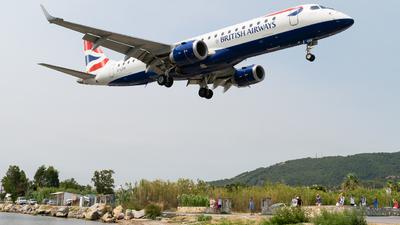 G-LCYK - Embraer 190-100SR - BA CityFlyer