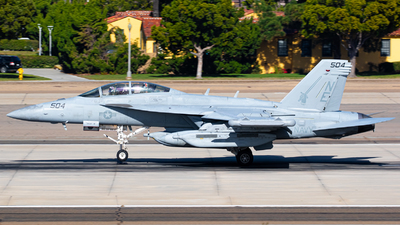168265 - Boeing EA-18G Growler  - United States - US Navy (USN)