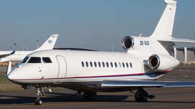 SE-DJD - Dassault Falcon 7X - Blue Chip Jet