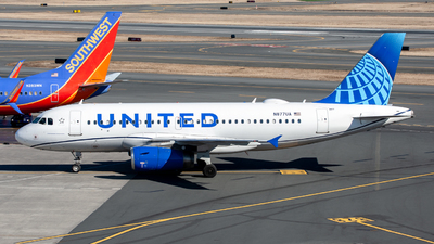 A picture of N877UA - Airbus A319132 - United Airlines - © OCFLT_OMGcat