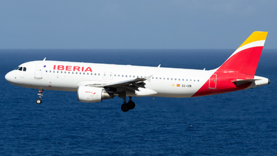 A picture of ECIZR - Airbus A320214 - Iberia - © Luis Rguez