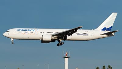 A picture of CSTKR - Boeing 76736N(ER) - EuroAtlantic Airways - © Aaron Vancoillie