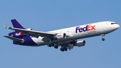 A picture of N621FE - McDonnell Douglas MD11F - FedEx - © Chingwang Lee