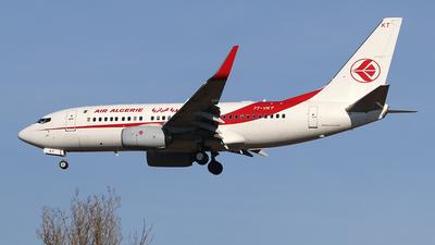 7T-VKT - Boeing 737-7D6C - Air Algérie