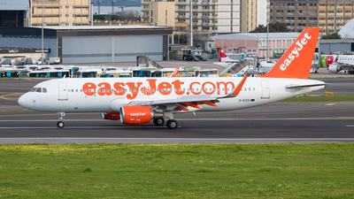 A picture of GEZOI - Airbus A320214 - easyJet - © Marta Costa