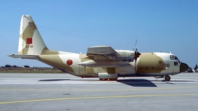 4738 - Lockheed C-130H Hercules - Morocco - Air Force