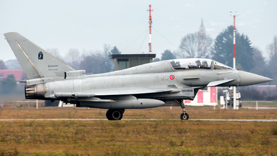 MM55096 - Eurofighter Typhoon T.1 - Italy - Air Force