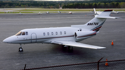 N867QS - Raytheon Hawker 800XP - NetJets Aviation