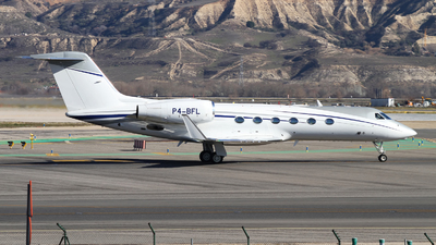 P4-BFL - Gulfstream G450 - Private
