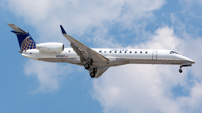 N12201 - Embraer ERJ-145XR - United Express (ExpressJet Airlines)