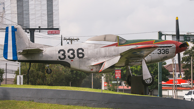336 - North American P-51D Mustang - Guatemala - Air Force