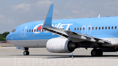 C-GVAQ - Boeing 737-8K5 - CanJet Airlines